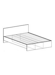 Кровать Бася КР-555 900 шимо темный - шимо светлый