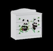 Комод Сладкий Соня белый - панда