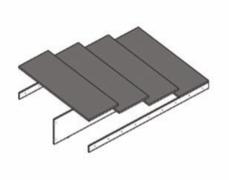 Основание для кроватей ТЭКС 1600 ЛДСП