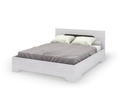 Кровать 1,4 с ортопедическим основанием Валенсия КР-011 дуб анкор светлый