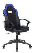 Кресло игровое VIKING-11 черный - синий