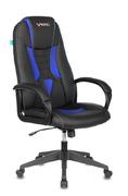 Кресло игровое VIKING-8N синий - черный